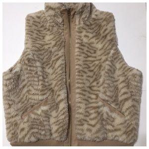 Jou Jou Faux Fur Vest Size 2X